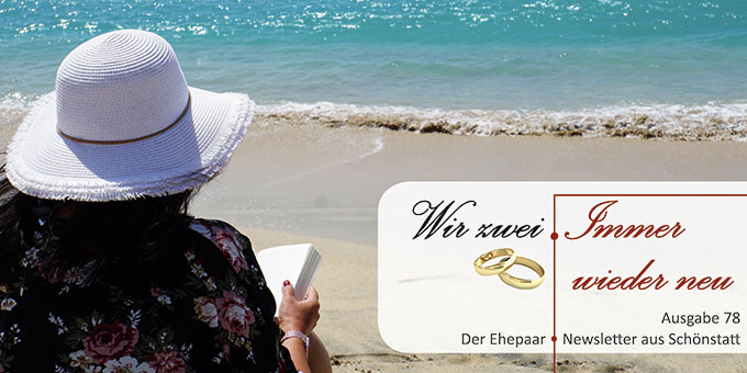 """Ehepaar-Newsletter 06/2019 """"Wir zwei - Immer wieder neu"""" (Foto: Mylene2401, pixabay.com)"""
