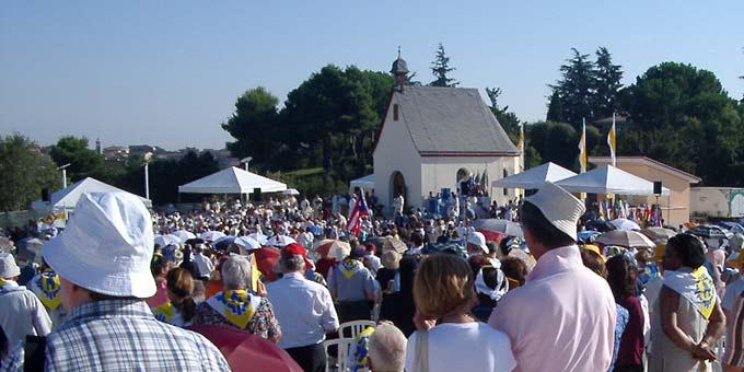8. September 2004: Einweihung des Matri-Ecclesiae-Heiligtums in Rom (Foto: Brehm)