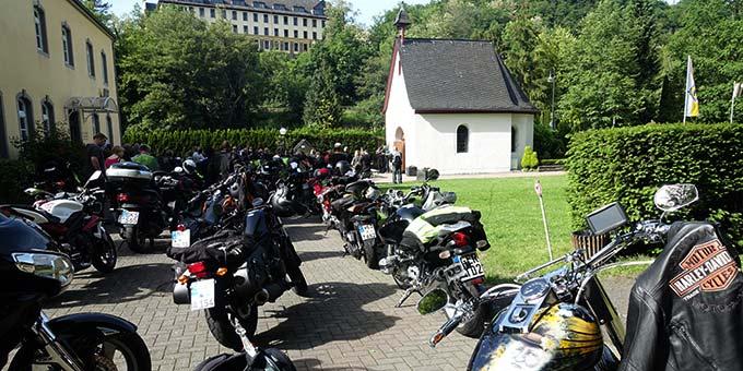 Ankunft am Urheiligtum (Foto: Pilgerzentrale)