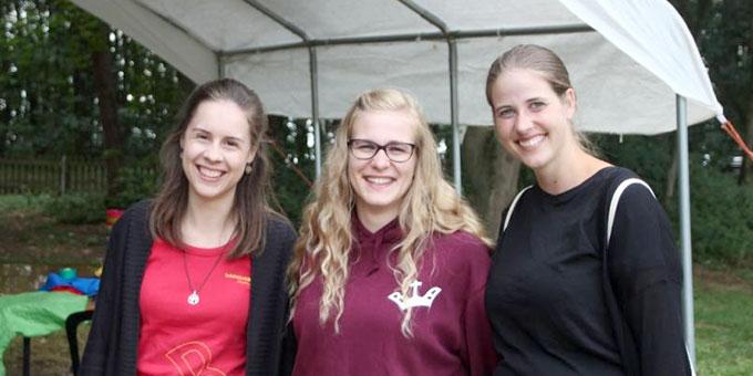Die Schönstatt-Bewegung Mädchen/Junge Frauen (SchönstattMJF) beteiligte sich an der Programmgestaltung(Foto: Franz-Josef Meyer)