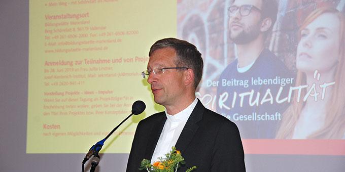 Eröffnungsstatement: Dr. Michael Gerber, Bischof von Fulda (Foto: Brehm)