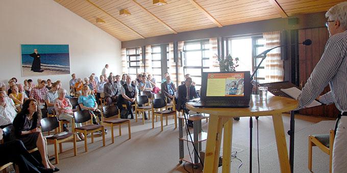 Interessierte Teilnehmerinnen und Teilnehmer des Studien- und Workshoptages (Foto: Brehm)
