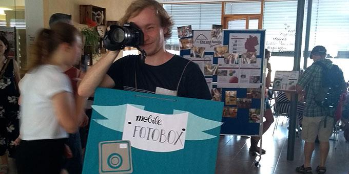 Fotobox einmal anders (Foto: Huber)