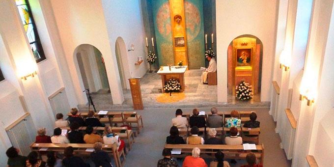 "Hauskapelle im ""Haus Regina"" in Vallendar (Foto: FvS)"
