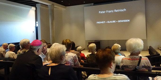 Impuls zum Leben von Pater Franz Reinisch, dessen Seligsprechungsprozess von der Diözese Trier abgeschlossen und nun an die römischen Stellen weitergeleitet wurde. (Foto: Pilgerzentrale Schönstatt)