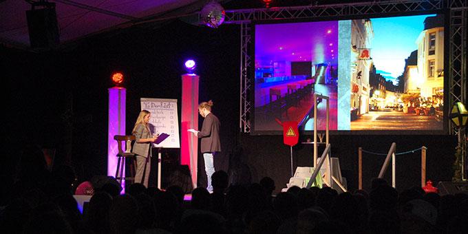 Eröffnungsabend der NdH 2019 im Festivalzelt auf dem Pilgerplatz in Schönstatt, Vallendar (Foto: Brehm)