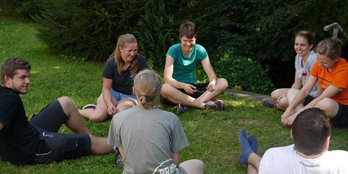 Miteinander: Es braucht auch Zeit um sich auszutauschen und zu chillen (Foto: NdH, Raphaela Immler)