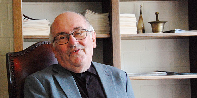 Pater Dr. Herbert King feierte am 12. August 2019 seinen 80. Geburtstag (Foto: Brehm)