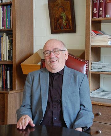 """King: """"Mit Pater Kentenich möchte ich hier sagen: da ist irgendwo ein Bazillus drin, eine Art Denkform, die jede religiöse Erfahrung – weil zu unwissenschaftlich, zu untheologisch - im Grunde genommen nicht zulassen kann."""" (Foto: Brehm)"""