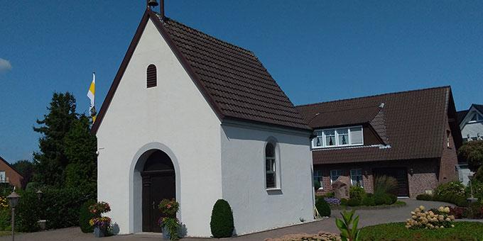 Schönstatt-Zentrum Bocholt-Biemenhorst  mit Kapelle und Haus Marienhorst (Foto: Kalicki)