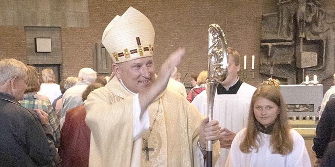 Weihbischof Wilfried Theising: Das Eigentliche, ja, das Schönste kommt noch (Foto: Klas Unland)