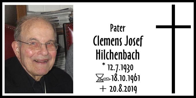 Todesanzeige Clemens Josef Hilchenbach (Foto: Schönstatt-Patres)