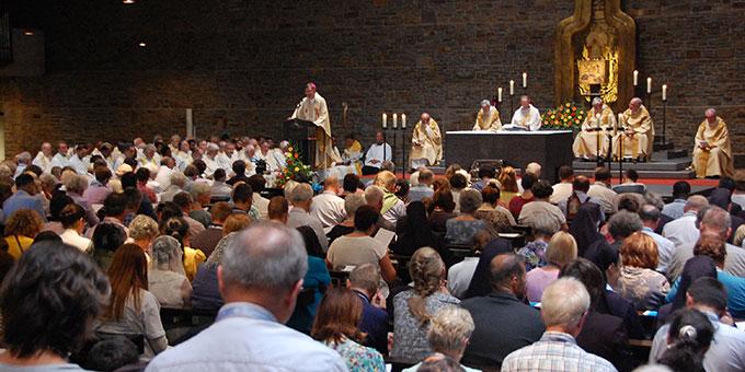 Die Dreifaltigkeitskirche war voll besetzt (Foto: Brehm)