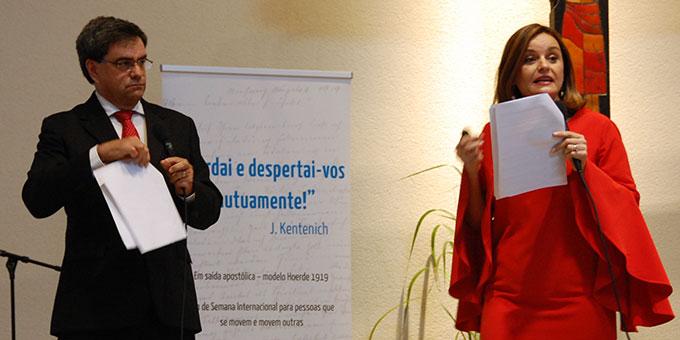 Elizabeth Field und Alejandro Robles, Schönstatt-Familienbund, Costa Rica (Foto: Brehm)