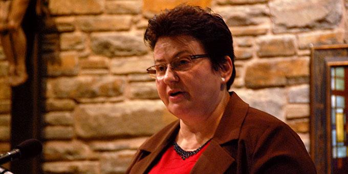 Professor Geni M. Hoss, Schönstatt-Frauenbund, Brasilien (Foto: Brehm)