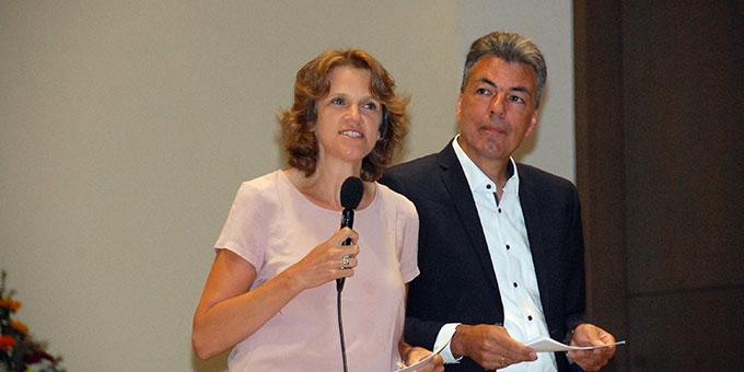 Diana und Dr. Lukas Schreiber, Leitung des Schönstatt-Familienbundes Deutschland, moderieren die zwei Tage des Hörde-Treffens (Foto: Brehm)