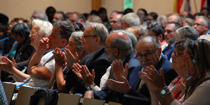 Die Teilnehmerinnen und Teilnehmer des Hörde-Treffens erwartet in der Pilgerkirche Schönstatt, Vallendar, ein anspruchsvolles und intensives Programm (Foto: Brehm)