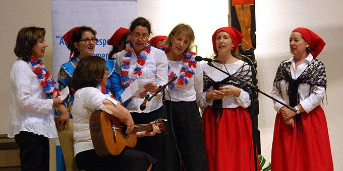Beitrag von Frauen aus dem Mütterbund in Chile (Foto: Brehm)