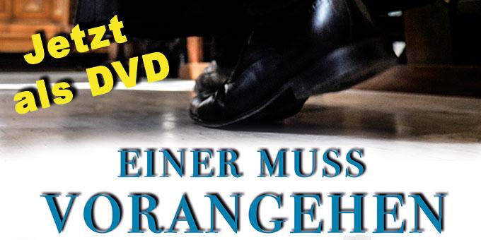 """Cover-Ausschnitt der DVD """"Einer muss vorangehen!"""" (Foto: S-MS)"""