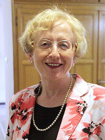 Generaloberin Dr. Gertrud Pollak, Ordinariatsdirektorin i.R. (Foto: FvS)