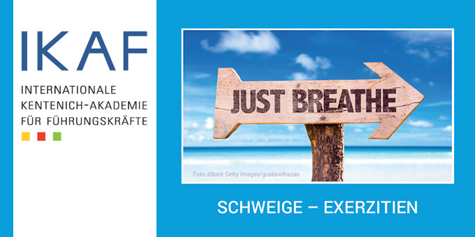 "Exerzitien ""Just breath"" (Foto: IKAF)"