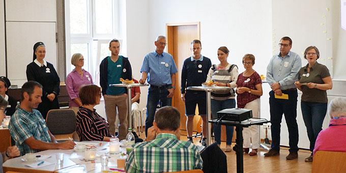Hoch motiviert im großen Anliegen: Das Team MITEINANDER (Foto: Zürrlein)