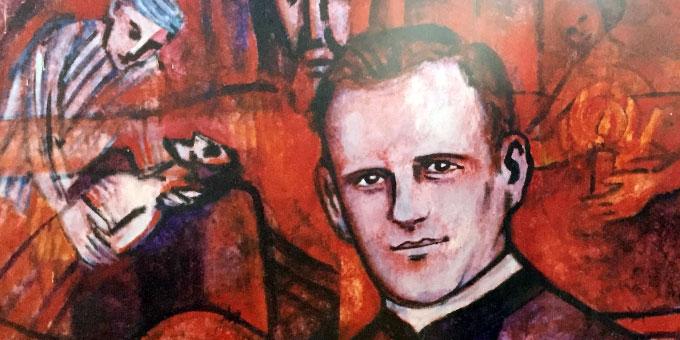 Pater Richard Henkes SAC - Ausschnitt eines Gemäldes von Beate Heinen (Foto: Brehm)