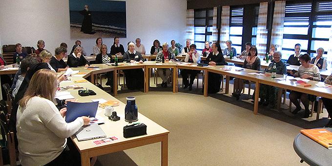 Die Tagung findet in der Bildungsstätte Marienland, Berg Schönstatt, Vallendar,  statt (Foto: Lämmle)
