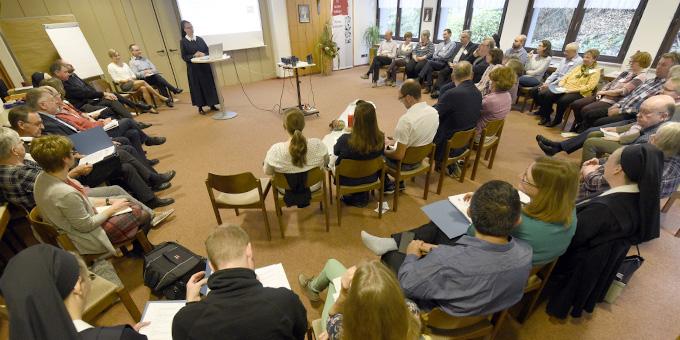 Die Tagung findet im Haus der Familie in Schönstatt, Vallendar statt (Foto: Kröper)