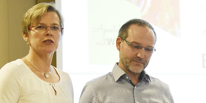 Manuela und Peter Miller, Saalach, moderierten die Jahrestagung der Schönstatt-Familienbewegung Deutschland (Foto: Kröper)