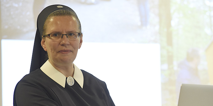 Input durch Schwester M. Veronika Riechel (Foto: Kröper)
