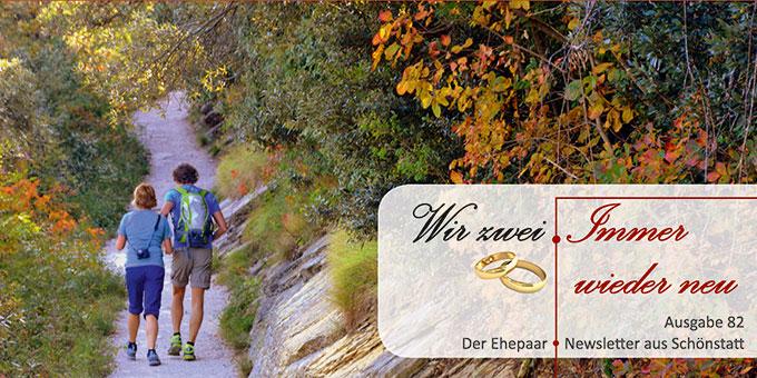"""Ehepaar-Newsletter 10/2019 """"Wir zwei - Immer wieder neu"""" (Foto: Gianni Crestani, pixabay.com)"""