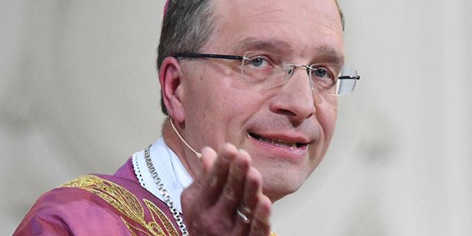 Bischof Dr. Michael Gerber, Fulda, kommt zum Schönstatt-Tag am 18. Oktober 2019 (Foto: Arnuls Müller, Fulda)