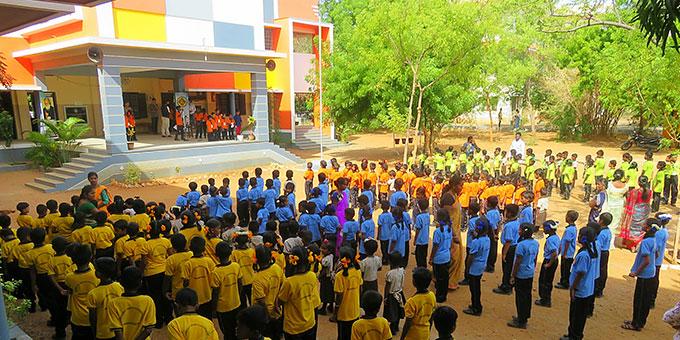 Schulversammlung (Foto: Paul)