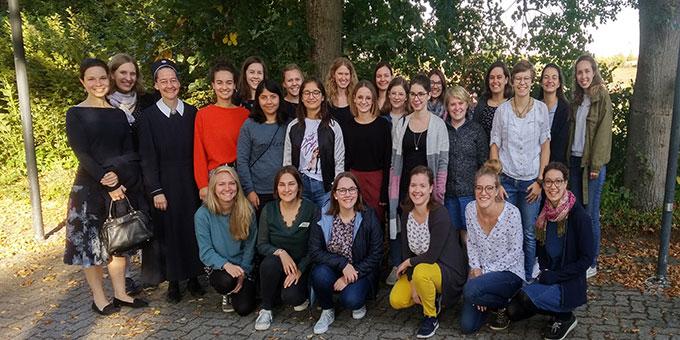 Die Teilnehmerinnen am NER-Seminar kamen nicht nur aus der SchönstattMJF (Foto: Leibrecht)