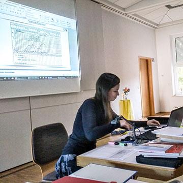 Dr. Maria Bielak erwies sich als Referentin mit fachlich fundiertem Wissen im Bereich der natürlichen Empfängnisregelung (Foto: Leibrecht)