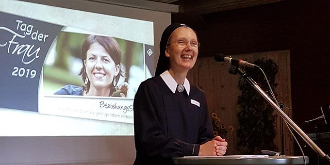 Die Referentin: Schw. Marie-Jeannette Wagner (Foto: Peitz)