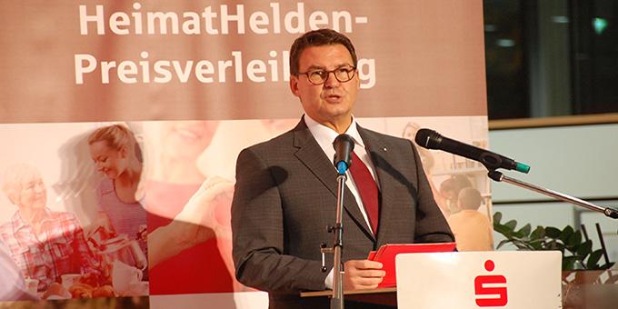 Matthias Nester, Vorsitzender des Vorstandes der Spaarkasse Koblenz (Foto: Brehm)