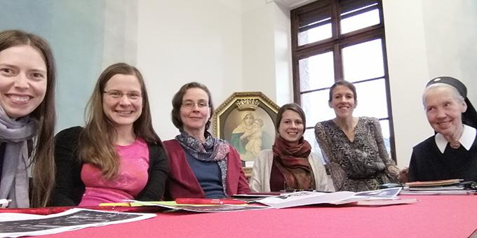 Sr. M. Pia Buesge sprach über die Anfänge der Frauenbewegung in Schönstatt (Foto: MOMENT-Redaktion)