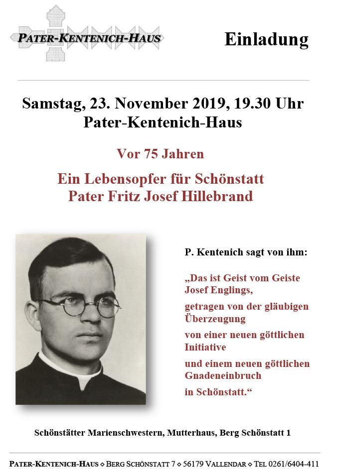 Einladung ins Pater Kentenich Haus (Foto: S-MS.org)