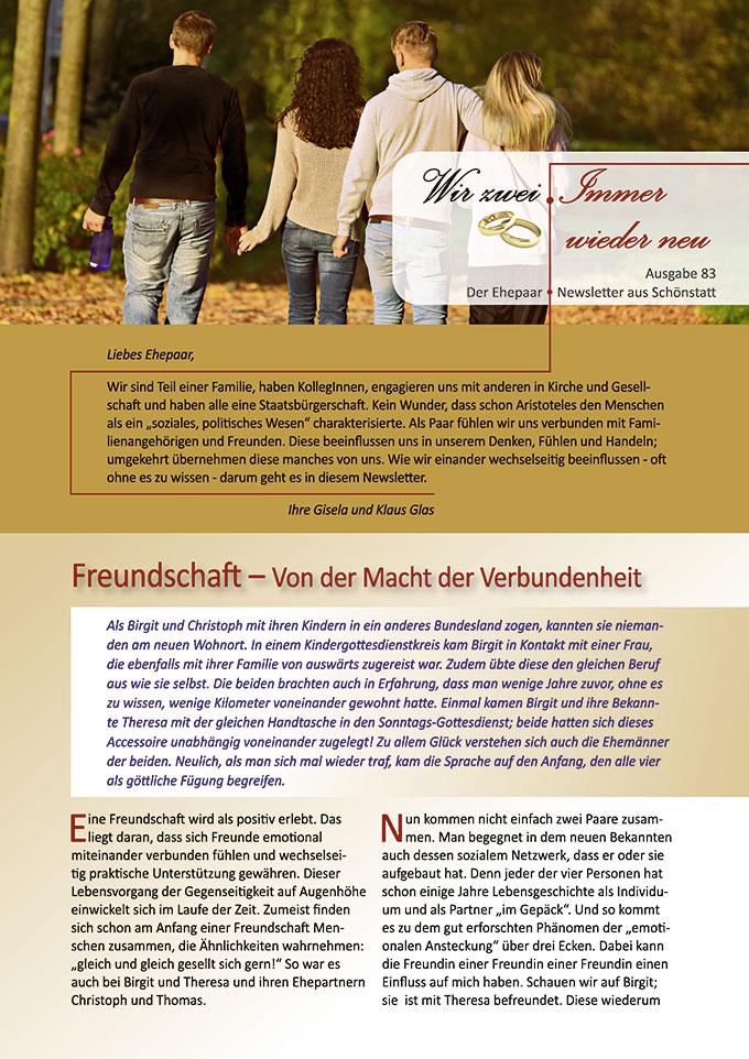 "Ehepaar-Newsletter 11/2019 ""Wir zwei - Immer wieder neu"" (Foto: MabelAmber, pixabay.com)"