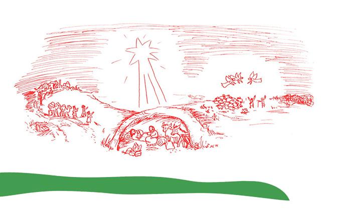 Zeichnung: Marion Leineweber, https://marionszeitfenster.wordpress.com