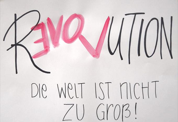 Mit diesem Motto geht die NdH2020 an den Start (Foto: Johanna Gerber)