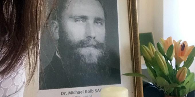 Am 23. Dezember 2019 vor 100 Jahren kam Pater Michael Kolb SAC dauerhaft nach Schönstatt, Vallendar, und wurde zu einem wichtigen Mitarbeiter des Schönstatt-Gründers Pater Josef Kentenich (Foto: Kostka)