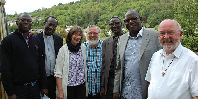 Pfarrer Franz Kraft war zusammen mit den vier Priestern aus dem Tschad zu einem