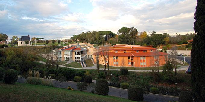 Das Schönstatt-Zentrum Belmonte in Rom (Archivbild: Brehm)