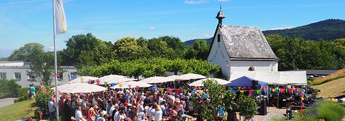 Schönstatt-Kapelle beim Seminar- und Bewegungshaus des Schönstatt-Zentrums Marienfried, Oberkirch