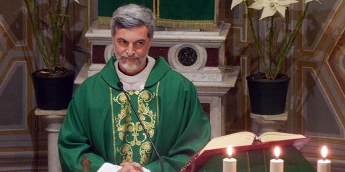 Pater Alexandre Awi Mello ISch, Sekretär des Dikasteriums für Laien, Familie und Leben (Foto: UAC)