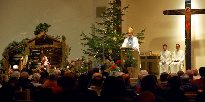 Über 500 Personen haben den Gottesdienst mitgefeiert (Foto: Brehm)