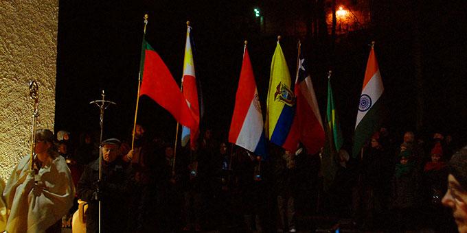 Wie immer wurde der Bündnistag in internationaler Verbundenheit mit Schönstättern in der ganzen Welt gefeiert (Foto: Brehm)